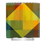 Perspective In Color Collage 2 Shower Curtain