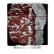 Perspectives - Plaque Shower Curtain