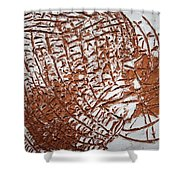 Perspectives - Tile Shower Curtain