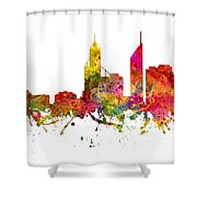 Perth Australia Cityscape 08 Shower Curtain