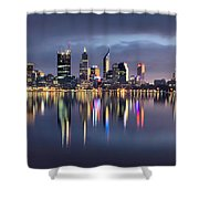 Perth My Beautiful City Shower Curtain
