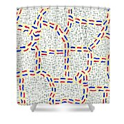 Pertinacious Shower Curtain