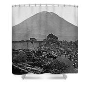 Peru: Earthquake Shower Curtain