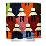 Peru Hat Tapestry Shower Curtain