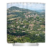 Perugia Countryside Shower Curtain