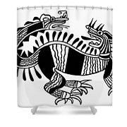 Peruvian Chimera Shower Curtain