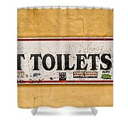 Pet Toilets Shower Curtain