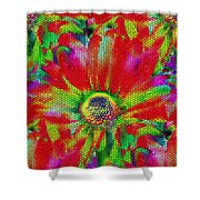 Petal Power Shower Curtain
