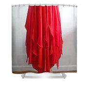 Petal Skirt - Ameynra Fashion 2016 Shower Curtain