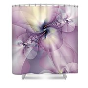 Petals Of Pulchritude Shower Curtain