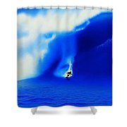 Jaws 2004 Shower Curtain