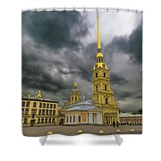Peter And Paul Fortress Shower Curtain