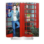 Peter Capaldi Dr Who Putting You Through Shower Curtain