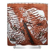 Peter N Katie - Tile Shower Curtain