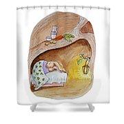 Peter Rabbit  Shower Curtain