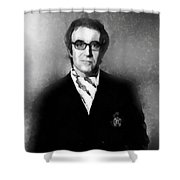 Peter Sellers By John Springfield Shower Curtain