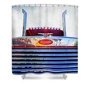 Peterbilt Lowridin Edition Shower Curtain