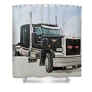 Peterbilt Shower Curtain