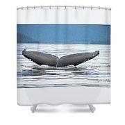 Petersburg Ak Whale Tale 2 Shower Curtain