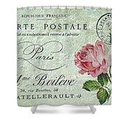 Petit Rose Confection Shower Curtain