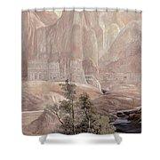 Petra Shower Curtain by Guido Borelli