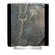 Petroglyph Series 1 Shower Curtain