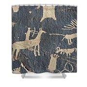 Petroglyphs, Utah Shower Curtain