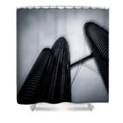 Petronas Towers Shower Curtain