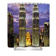 Petronas Towers Shower Curtain