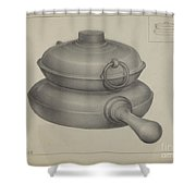 Pewter Pan Shower Curtain