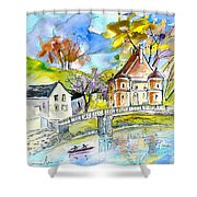 Peyrehorade 01 Shower Curtain