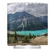 Peyto Lake Banff Shower Curtain