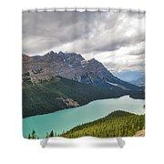 Peyto Lake - Banff National Park, Canada Shower Curtain