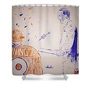 Peyton Manning Shower Curtain