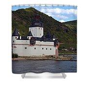 Pfalz Castle Shower Curtain
