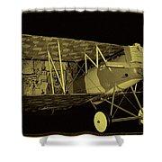 Pfalz D.xii Fighter Shower Curtain