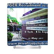 Pgcil Recruitment Shower Curtain