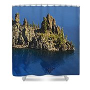 Phantom Tour Boat Shower Curtain