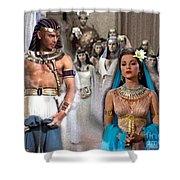 Pharaoh Of Egypt Exodus 2 Shower Curtain