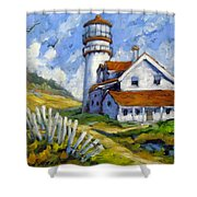 Phare 005 Shower Curtain
