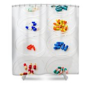 Pharmaceutical Research Shower Curtain