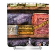 Pharmacist - Assorted Cures Shower Curtain