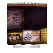 Pharmacy - Medicine - Blood Purifiers  Shower Curtain
