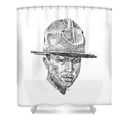 Pharrell Shower Curtain