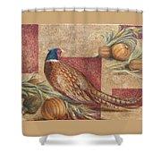 Pheasant I Shower Curtain