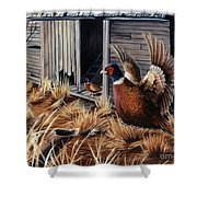 Pheasant Open House Shower Curtain