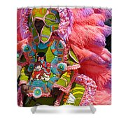 Phenomenal In Pink Shower Curtain