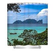 Phi Phi Islands Shower Curtain