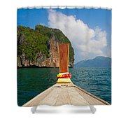 Phi Phi Leh Shower Curtain