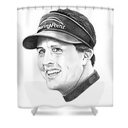Phil Mickelson Shower Curtain